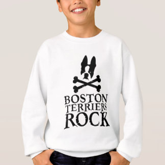 Boston Terriers Rock Sweatshirt