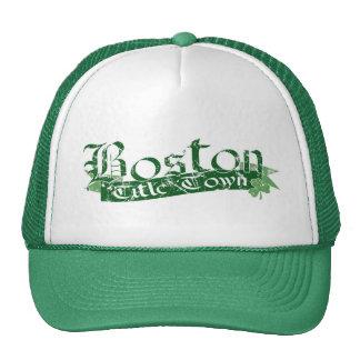 Boston Title Town Distressed Cap