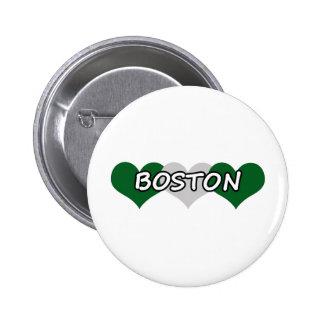 Boston Triple Hearts Pins
