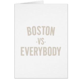 Boston Vs Everybody Card