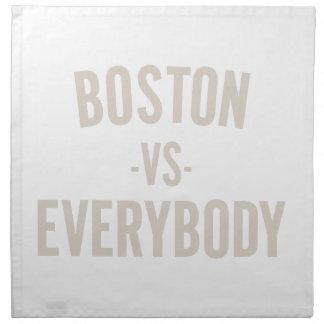 Boston Vs Everybody Napkin
