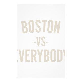 Boston Vs Everybody Stationery