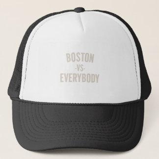 Boston Vs Everybody Trucker Hat