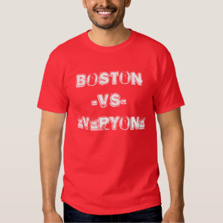 """Boston VS Everyone"" t-shirt"