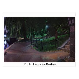 Boston's Public Garden Postcard