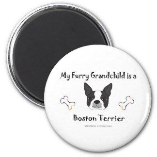 BostonTerrier 6 Cm Round Magnet