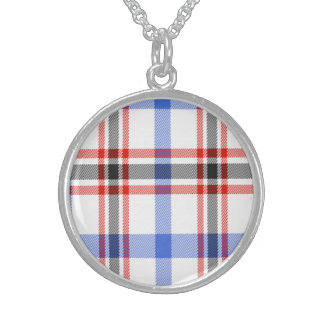 Boswell Scottish Tartan Sterling Silver Necklace