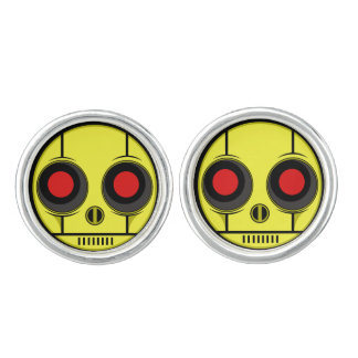 Bot Face Cufflinks