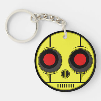 Bot Face Key Ring