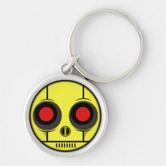 Bot Face Key Ring