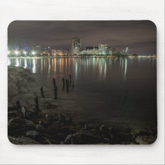Botafogo Bay Night Mouse Pad