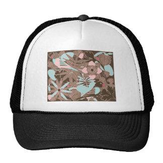 Botanic Birds - Chocolate Hats