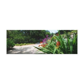 Botanica Gardens Shaded Path Gallery Wrap Canvas