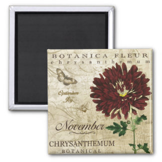 Botanica November Magnet