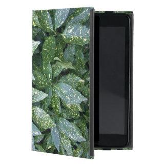 Botanical Acuba Bush Varigated Plant Photo iPad Mini Case