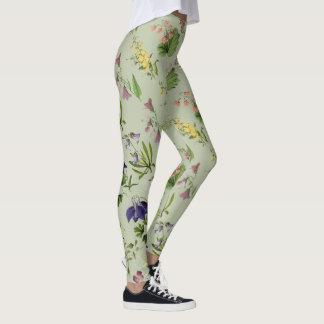 Botanical Alpine Floral All Over Print Legging