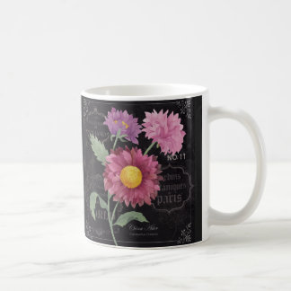 Botanical Asters  Floral Mug