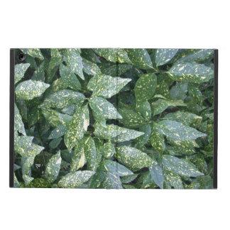 Botanical Aucuba Bush Varigated Plant Photograph Case For iPad Air