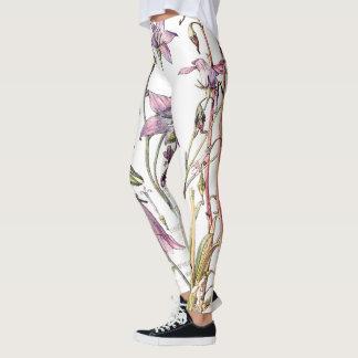 Botanical Bell Flowers All Over Print Leggings