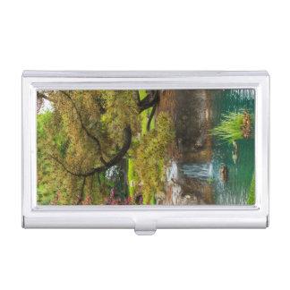 Botanical Bliss Business Card Holder