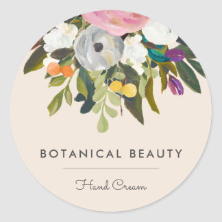 Botanical Bliss Circle Stickers Option 2