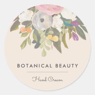 Botanical Bliss Circle Stickers Option 3 (Muted)