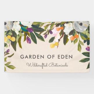 Botanical Bliss Floral Banner