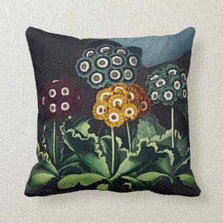 Botanical Blooms Auriculas Cushions