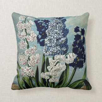 Botanical Blooms Hyacinths Cushions