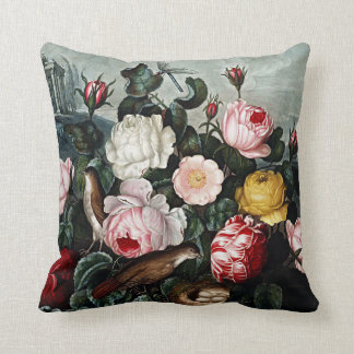 Botanical Blooms Roses Cushions