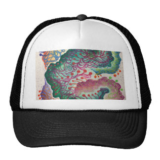 Botanical Breath Watercolor Cap