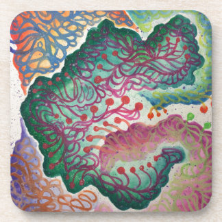 Botanical Breath Watercolor Coaster