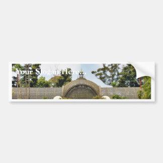 Botanical Building In Balboa Park Bumper Sticker