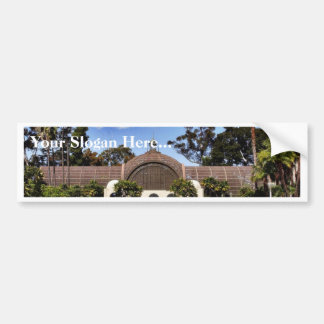 Botanical Building In Balboa Park In San Diego Bumper Sticker