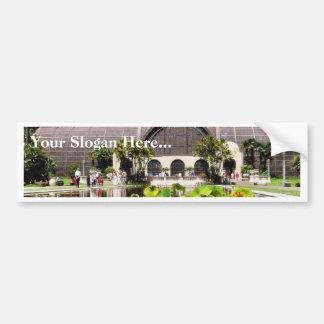 Botanical Buildings Arboreum Bumper Sticker