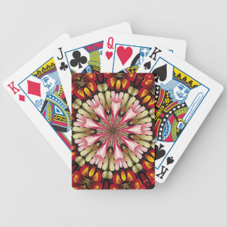 Botanical Dreams Mandala Bicycle Playing Cards