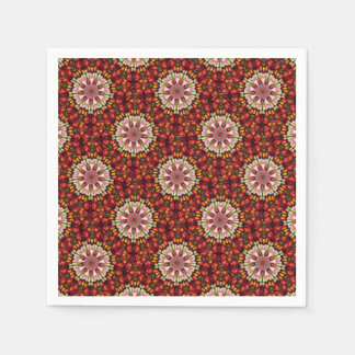 Botanical Dreams Mandala Disposable Napkin