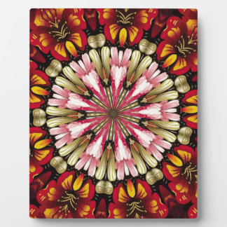 Botanical Dreams Mandala Plaque