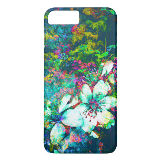 Botanical Floral Grunge Leaves and Vines Painting iPhone 8 Plus/7 Plus Case