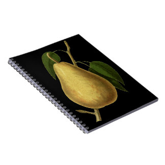 Botanical Fruit Pear Notebook