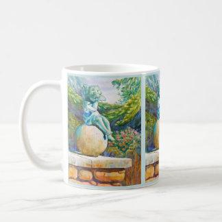 Botanical Garden Angel Coffee Mug