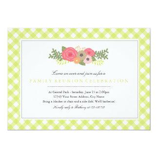 Botanical Garden Family Reunion Invitation