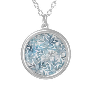 Botanical Garden Silver Plated Necklace
