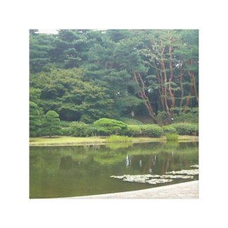 Botanical Garden, Tokyo, Japan Stretched Canvas Prints