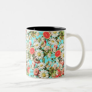 Botanical Garden Two-Tone Coffee Mug