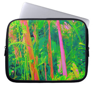 Botanical Gardens Abstract Computer Sleeve