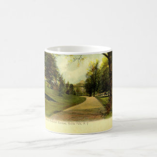 Botanical Gardens, Bronx New York 1905 vintage Coffee Mug