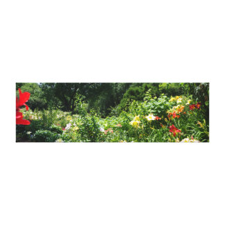 Botanical Gardens Stretched Canvas Print
