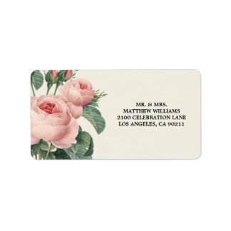 Botanical Glamour | Address Label