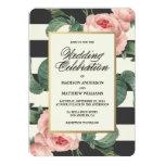 Botanical Glamour | Wedding Invitation